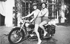 Woman Motorcycle Safety